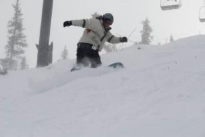 Josh Snowboarding